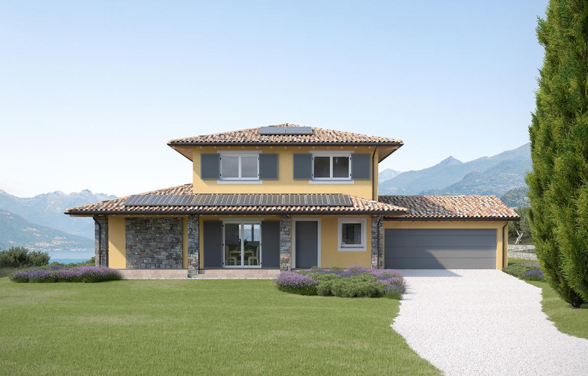Case Con Persiane Grigie : Casa bellagio pozzi case